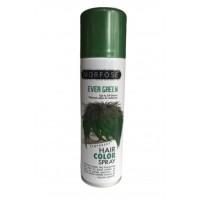Morfose Renkli Saç Spreyi 150 ml - Yeşil