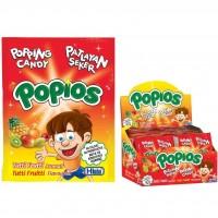 Hleks Patlayan Şeker Popios 40 Adet Tutti Frutti